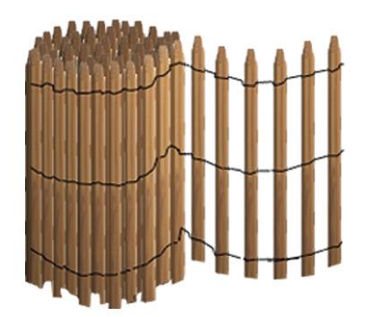 treillage m canique type m1 r f mod 8m1 am nagement et quipement palissade et. Black Bedroom Furniture Sets. Home Design Ideas