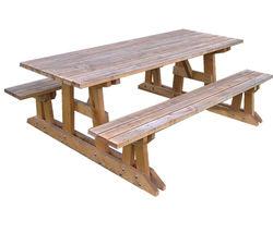 Table Pique-nique à Poser - Châtaignier