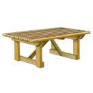 Acheter Table avec renforts - Châtaignier au meilleur prix