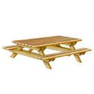 Acheter Table Pique-nique simple - Châtaignier au meilleur prix