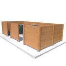 Acheter Cache Containers à Fixer - Châtaignier au meilleur prix