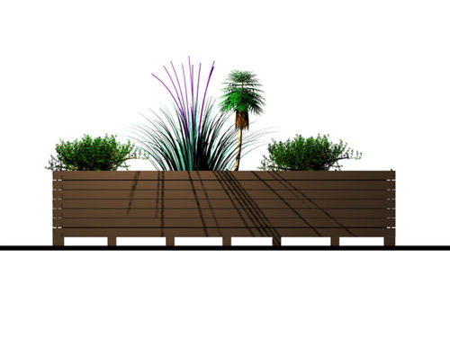 jardiniere exterieure. Black Bedroom Furniture Sets. Home Design Ideas
