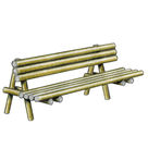 Banc Rustique - Solution Pin