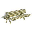 Banc double Rustique - Solution Pin