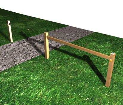 barri re coulissante r f a0782a barri re et cl ture. Black Bedroom Furniture Sets. Home Design Ideas