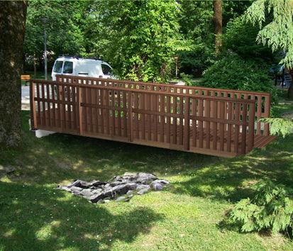 Passerelle bois prix passerelle bois sur enperdresonlapin - Passerelle en bois pour jardin ...