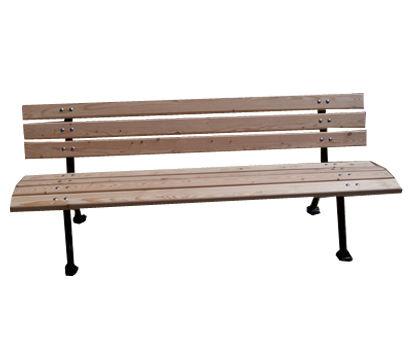 banc parisien fixer ch taignier r f ba pa cha banc et table banc banc bois m tal. Black Bedroom Furniture Sets. Home Design Ideas