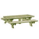 """Acheter Table Pique-nique """"5 Pieds"""" - Solution Pin au meilleur prix"""