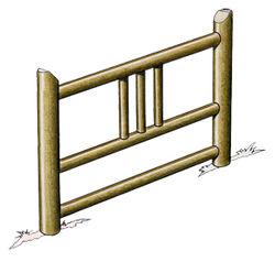 Barrière Décorative - Solution Pin