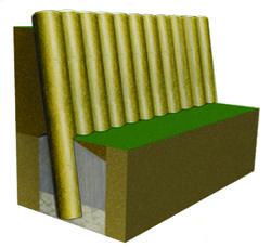 retenues de terre solution pin r f r0733a am nagement et quipement retenue de terre. Black Bedroom Furniture Sets. Home Design Ideas