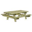 Acheter Table Pique-nique Nature - Solution Pin au meilleur prix