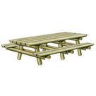 Acheter Grande Table Pique-nique Nature - Solution Pin au meilleur prix