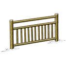 Acheter Eléments de clôture haute à barreaux (3 lisses) - Solution Pin au meilleur prix
