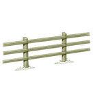Acheter Clôture haute à 3 lisses rectangulaires - Solution Pin au meilleur prix