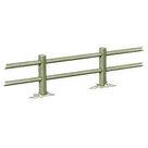 Acheter Clôture haute à 2 lisses carrées - Solution Pin au meilleur prix