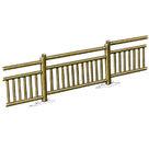 Acheter Eléments de clôtures hautes à barreaux - Solution Pin au meilleur prix