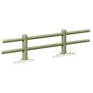 Acheter Clôture haute à 2 lisses octogonales - Solution Pin au meilleur prix