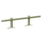 Acheter Clôture haute à 1 lisse rectangulaire - Solution Pin au meilleur prix