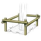 Acheter Protection d'arbre en rondins - Solution Pin au meilleur prix