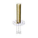 Acheter Borne ronde - Amovibilité Cadenas d'Artillerie - Solution Pin au meilleur prix