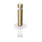 Borne ronde rétro-réfléchissante - Amovibilité Simple - Solution Pin
