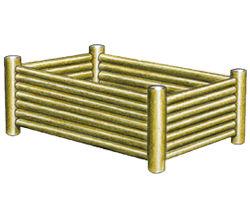 Jardinière rectangulaire - Solution Pin