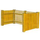 Acheter Eléments modulaires en Avivés pour Cache Containers - Châtaignier au meilleur prix
