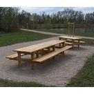 """Table Pique-nique Gamme """"Style"""" - Châtaignier - image 1"""