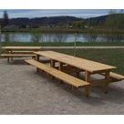 """Table Pique-nique Gamme """"Style"""" - Châtaignier - image 2"""