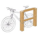 Acheter Appui vélos mixte (adultes - enfants) - Châtaignier au meilleur prix