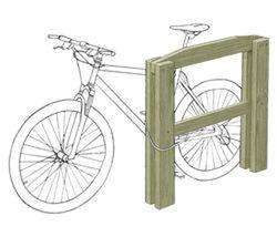 Appui vélos mixte (adultes - enfants) - Solution Pin