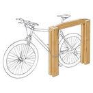 Acheter Appui vélos adultes - Châtaignier au meilleur prix