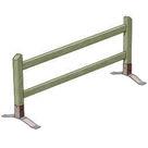 Acheter Barrière mobile à 2 Lisses - Solution Pin au meilleur prix